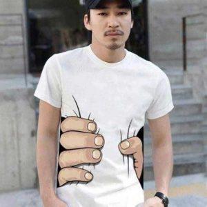 egyedi férfi póló
